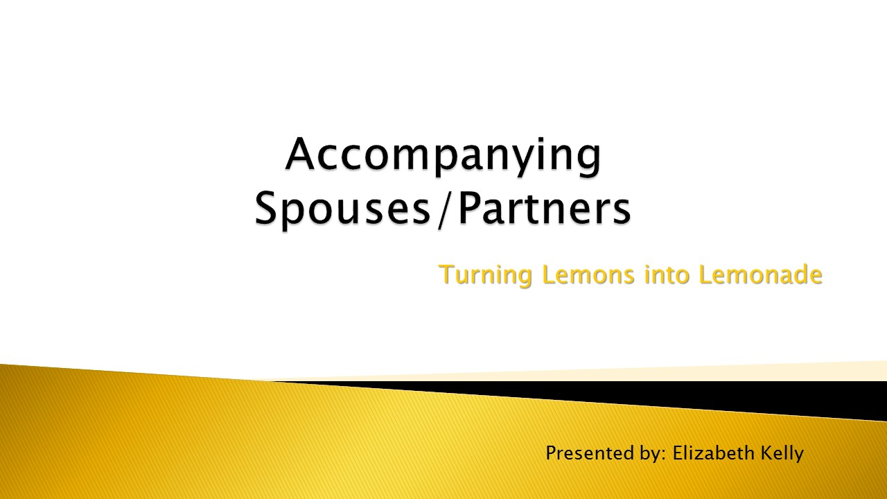 Accompanying Spouses/Partners