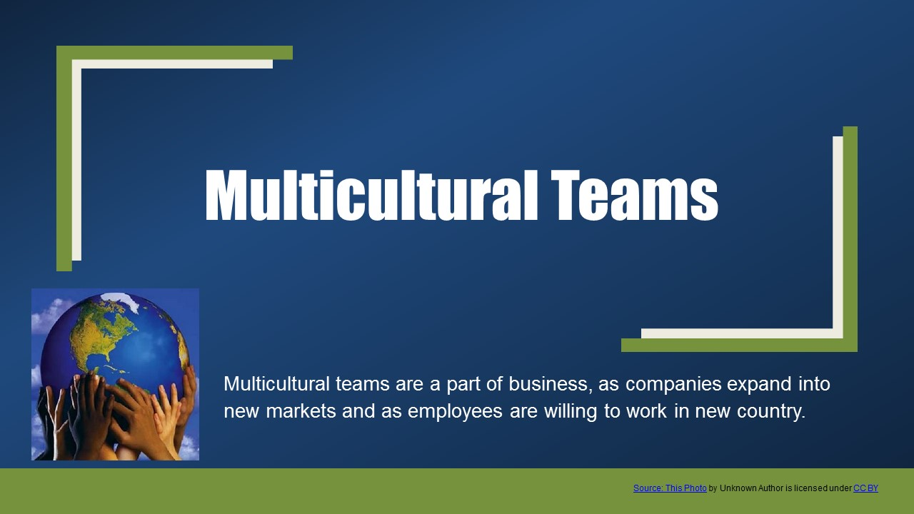 Multicultural teams